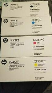 Genuine HP 508X BLACK, CYAN, YELLOW & MAGENTA High Capacity VAT INCLUDED