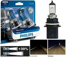 Philips VIsion 30% 9004 HB1 65/45W Two Bulbs Head Light Dual Beam Replacement OE
