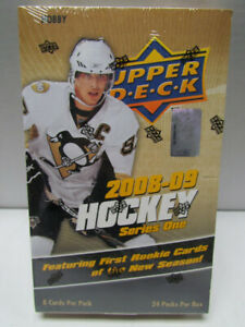 2008-09 UPPER DECK SERIES ONE HOCKEY HOBBY BOX