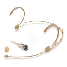 Pro Omnidirectional Head Headset Microphone Mic For Audio-Technica Hirose 4 pin