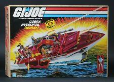 1985 Hasbro GI Joe Series 4 Cobra Hydrofoil Moray MIB Sealed Contents