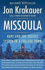 Missoula: Rape and the Justice System in a College Town by Jon Krakauer (Paperback, 2016)