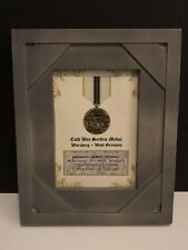 COLD WAR SERVICE MEDAL ~ 5x7 Medal Print w/Rank, Name, Unit, etc. -Free Printing