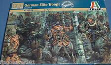 ITALERI 6068. WW2 GERMAN ELITE TROOPS. 1:72 SCALE PLASTIC FIGURES. WWII GERMANS