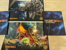 Twilight Imperium 4th Edition Deluxe Hardcover Rulebook + Posters