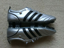 Adidas Adipure TRXFG Metallic Silver Black Size 12 US/11.5 UK Soccer Cleats NWOB