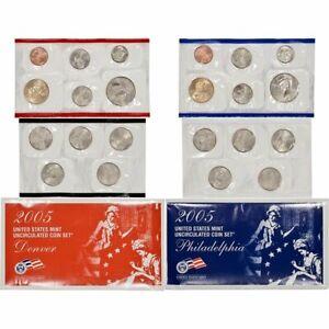 2005 US Mint Uncirculated Set