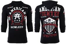 American Fighter Mens Hoodie Sweat Shirt DALTON Athletic BLACK Biker S-3XL $65