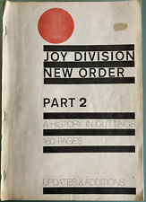 """Joy Division / New Order - """"A History In Cuttings"""" Part 2"""