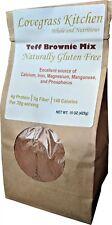 Teff Brownie Mix. Naturally Gluten Free.Ingredients: Teff, Organic Coconut Sug
