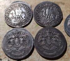 1 Médailles sceau des Templiers  piles et face armoiries