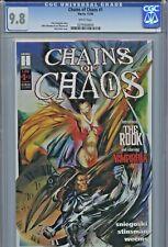 1994 HARRIS COMICS CHAINS OF CHAOS #1 CGC 9.8 VAMPIRELLA / ROOK - GORGEOUS !!