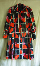 Vintage 60's Dress West Germany Lavalook fits Medium Fully lined front pleats