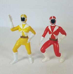 Vintage 2000 McDonald's Power Rangers Lightspeed Rescue Figures Lot Of 2