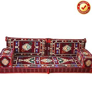 Arabic Turkish Sofa Oriental Set Majlis Kilim Floor Corner Cushion Only Covers