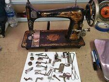 Antique 1900 Singer Model 27 Sewing Machine SN#N308038 - Turns Nicely
