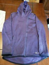 Oakley Jacket Hooded Small Women's Hoodie Full Zip Purple Small @NICE@ @LOOK@