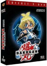 7354//  Bakugan Battle Brawlers - Saison 2 COFFRET 3 DVD NEUF 4H30