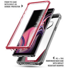 For Samsung Galaxy Note 9 Case Poetic Rugged Heavy Duty TPU Cover-【Guardian】Pink