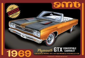 AMT 1:25 1969 Plymouth Gtx Convertible 2T, #R2AMT1137