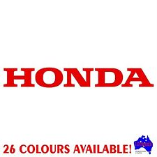 20cm HONDA car panel,trailer,dirt bike,motorcyle,outboard marine sticker decal!