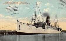 Providence Rhode Island New State Pier Steamship Venezia Antique Postcard K26623