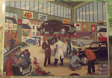 Carte Expo Affiche Scolaire  30x21cm Garage Automobile Dinky Toys 403
