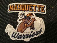 """Marquette Warriors Golden Eagles Vintage Embroidered Iron On Patch 3"""" X 3"""""""