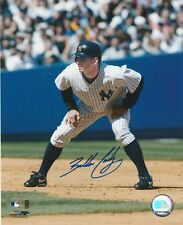 BUBBA CROSBY SIGNED 8X10 COLOR LICENSED PHOTO NEW YORK YANKEES 2004-2006