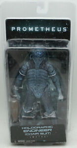 """NECA Prometheus Holographic Engineer Chair Suit 8"""" 2013 Sealed in Box"""