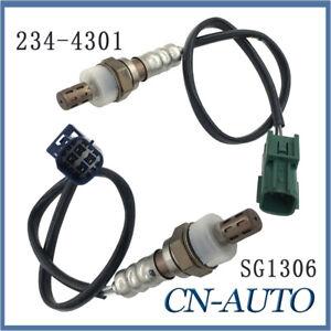 2Pcs Oxygen Sensor 234-4301 SG1306 For Nissan X-Trail 2.5L T30 2005-2007 QR25DE