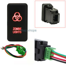 toyota tacoma switch ebaypush switch red led zombie lights with wires for toyota land fortuner tacoma (fits toyota tacoma)