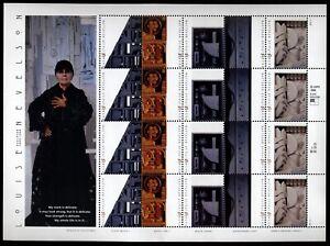 US Scott 3379-3383 Louise Nevelson mint pane