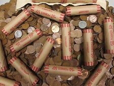 Unsearched Roll of Wheat Pennies.1909svdb found, 1922 plain found, 1922d found