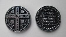 n Godmother you are special gift always there for me angel POCKET TOKEN CHARM