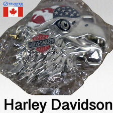 New Harley Davidson Motorcycles Belt Buckle Vintage 1991 Authentic Eagle USA E9