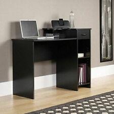 Mainstays Computer Workstation Home Office Study Desk Modern Student Table Black