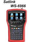 SATLINK WS-6966 DVB-S/S2 mpeg4 HD Satellite Signal Meter Spectrum analyzer HDMI