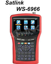 SATLINK WS-6966 DVB-S/S2 mpeg4 HD Satellite Signal Meter Spectrum analyzer HDMI