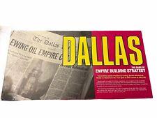 Vintage DALLAS Board Game of Empire Building Strategy Maruca 1985 80s TV