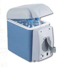 7.5L Blue Car Small Refrigerator 12V Mini Fridge Cooler/Warmer 310x170x310mm