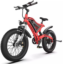 BICICLETTA ELETTRICA 500W 48V FAT BIKE AOSTIRMOTOR S18 MINI BICI MOUNTAIN E-BIKE