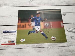 Sebastian Giovinco Signed Italy Italia 8x10 Photo PSA/DNA COA Autographed g