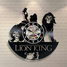 The Lion King_Exclusive wall clock made of vinyl record_GIFT