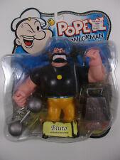 "Mezco Popeye Series 1 classic Bluto 5"" Action Figure Moc, 2001"