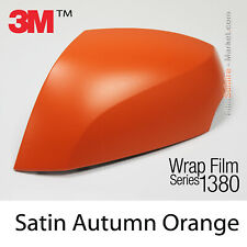 Proben - Matt Autumn Orange Met 3M 1380 S284 Wrapping Total Abdeckung Folie