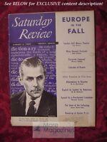 Saturday Review August 2 1952 THOMAS PYLES IVOR BROWN ALEXIS LICHINE