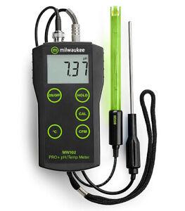 Milwaukee Automated Portable pH/Temperature Meter #MW102