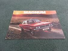 September 1975 / 1976 VAUXHALL MAGNUM 1800 / 2300 - UK BROCHURE - V2293