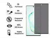 Anti-SPY Screen protector Tempered Glass For Samsung Galaxy Note10 /Note 10 +